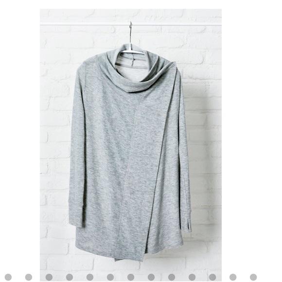 Stella & Dot Sweaters - Always cardigan large grey